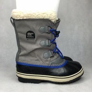 Sorel Kids Waterproof Winter Boots Lined Inserts